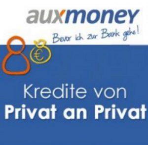 Kreditantrag über Auxmoney
